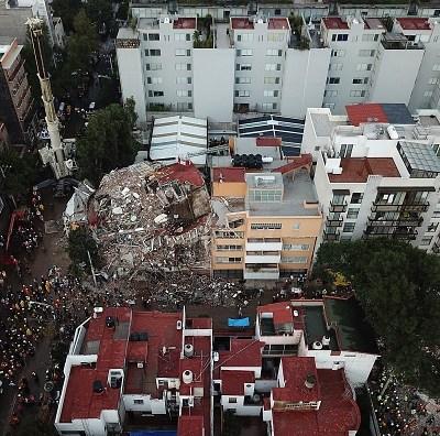 Un sismo de 8 grados podría derrumbar 415 edificios en la CDMX