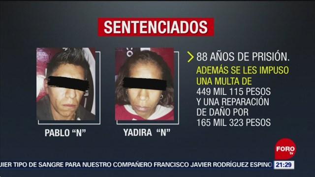 Foto: 88 Años Prisión Padrastro Madre Calcetitas Rojas 4 Septiembre 2019
