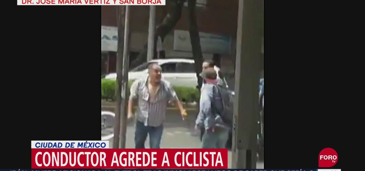 FOTO: Video Agreden ciclista CDMX