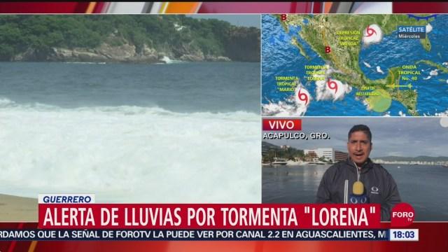 FOTO: Alerta lluvias Guerrero Lorena