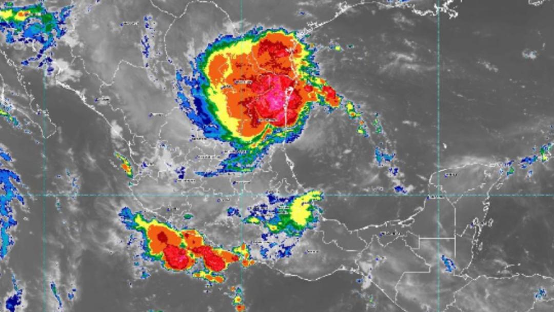 IMAGEN Alerta en Tamaulipas, Nuevo León y SLP por tormenta 'Fernand' (Conagua)