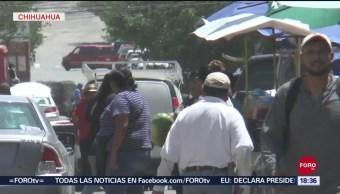FOTO: Altas temperaturas en Chihuahua dejan una persona muerta, 16 septiembre 2019