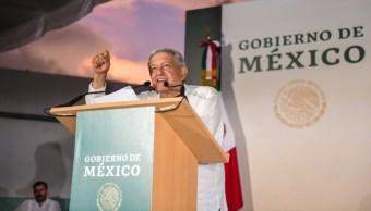 Foto: El presidente Andrés Manuel López Obrador En Hecelchakán, Campeche, 22 septiembre 2019