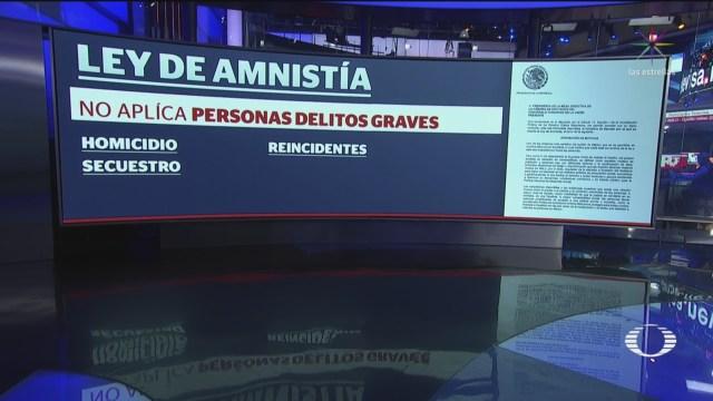 FOTO: AMLO envía a San Lázaro proyecto de Ley de Amnistía, 16 septiembre 2019