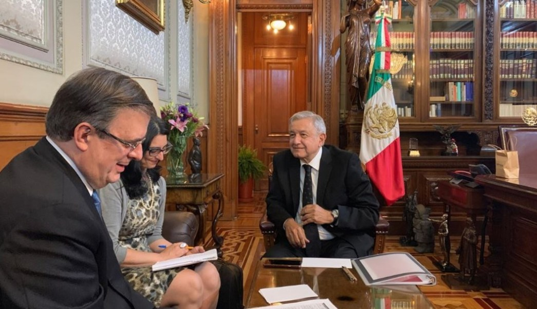 El presidente Andrés Manuel López Obrador dijo que sostuvo una buena conversación telefónica con el presidente Trump. (Twitter @lopezobrador_)