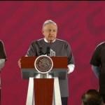 Foto: Amlo Encinas Ratifican Esclarecer Caso Ayotzinapa 26 Septiembre 2019