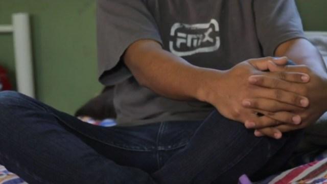 Foto: Antonio, menor de edad migrante, 5 de septiembre de 2019, Tamaulipas