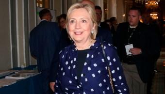 Foto: Hillary Clinton la semana pasada en Italia, 12 de septiembre de 2019 (AP)
