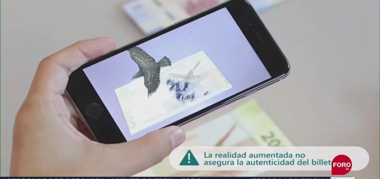Foto: Aplicación 'Billetesmx' Realidad Aumentada Nuevos Billetes 12 Septiembre 2019