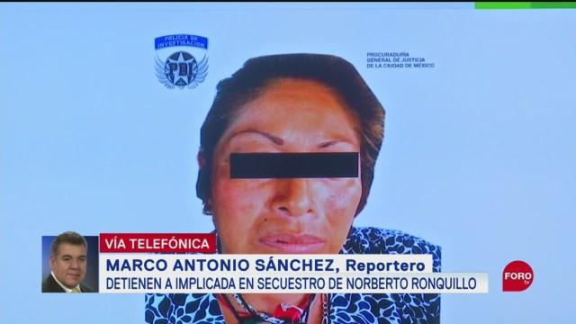 Foto: Detiene Mujer Participación Secuestro Norberto Ronquillo 21 Septiembre 2019