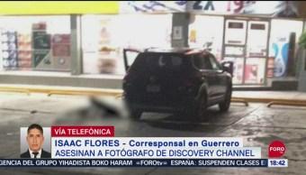 FOTO: Asalto Presunto Móvil Homicidio Fotógrafo Acapulco