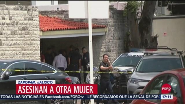 FOTO: Asesinan otra mujer Jalisco