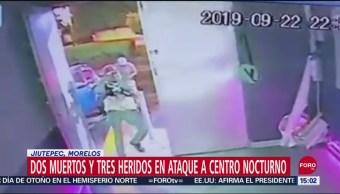 FOTO: Así Fue Ataque Bar Jiutepec Morelos