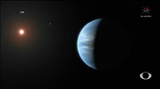 Foto: Astrónomos Encuentran Planeta Agua Atmósfera 11 Septiembre 2019