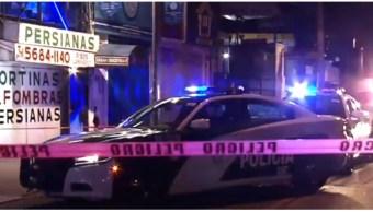 FOTO Ataque en bar de Tlalpan, CDMX, deja un muerto (Noticieros Televisa)