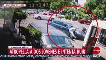 FOTO: Video Atropellan Dos Jóvenes Coyoacán, 2 de septiembre 2019