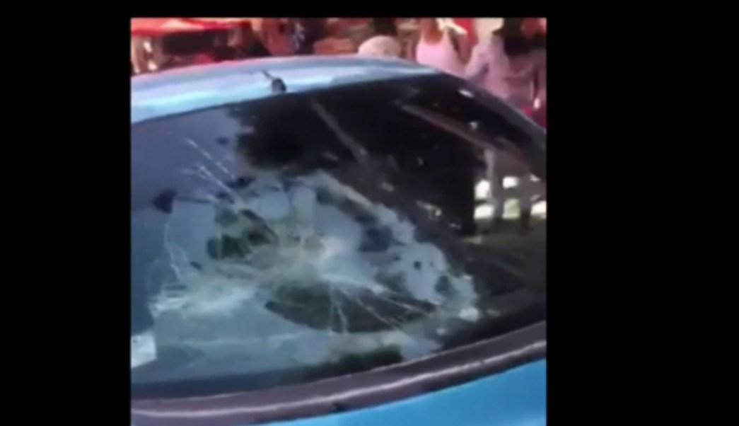 Foto: Un automovilista que conducía bajos los efectos del alcohol y embistió varios puestos de un tianguis, 4 de septiembre de 2019 (FOROtv)