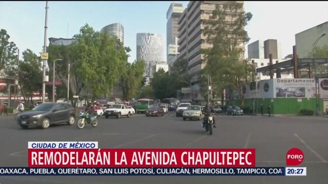 Foto: Autoridades Cdmx Buscan Remodelar Avenida Chapultepec 11 Septiembre 2019