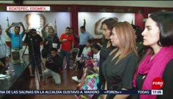 FOTO: Autoridades Ecatepec Apoyarán Con Abogados Familiares Víctimas Feminicidios,