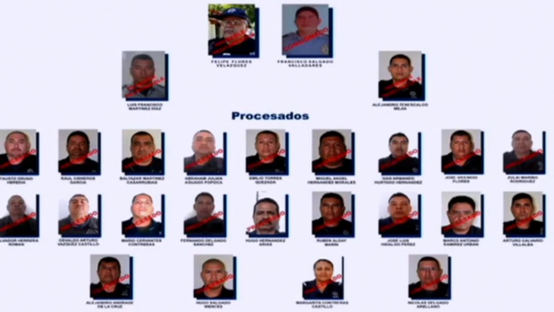 FOTO Ayotzinapa, quienes fueron liberados y cómo recapturarlos (Noticieros Televisa)