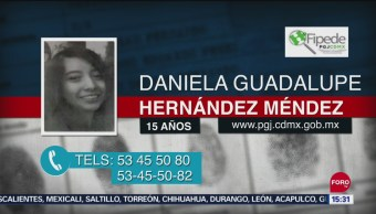 Foto: Alerta Amber CDMX Daniela Guadalupe Hernández Méndez 24 Septiembre 2019