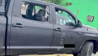Foto: Ocho personas fueron presuntamente ejecutadas por policías de Nuevo Laredo, Tamaulipas. Twitter/ @TamaulipasCRojo
