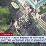 FOTO: Balance Tras Macrosimulacro Por Sismos 19-S México