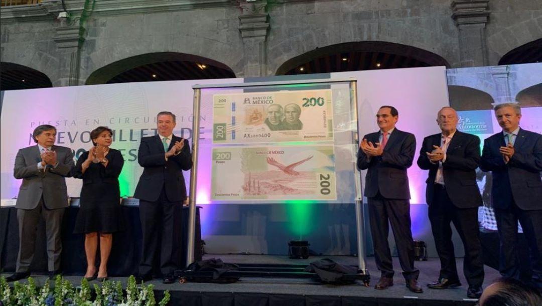 Foto Banxico presenta nuevo billete de 200 pesos 2 septiembre 2019