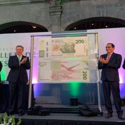 Así es el nuevo billete de 200 pesos que entra hoy en circulación