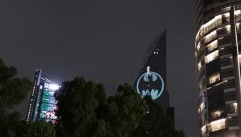 Foto Batiseñal CDMX Batman 21 Septiembre 2019