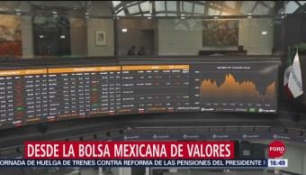 Foto: Bolsa Mexicana Cae Anuncio Juicio Político Trump 24 Septiembre 2019