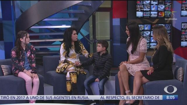Bruno Figueroa, de 10 años, recibió tratamiento de hipnosis para un tumor