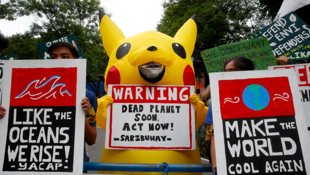 Foto: Se registraron marchas contra el cambio climático en Filipinas, 20 septiembre 2019