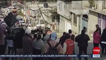 Camión atropella y mata a madre e hijo en el Estado de México