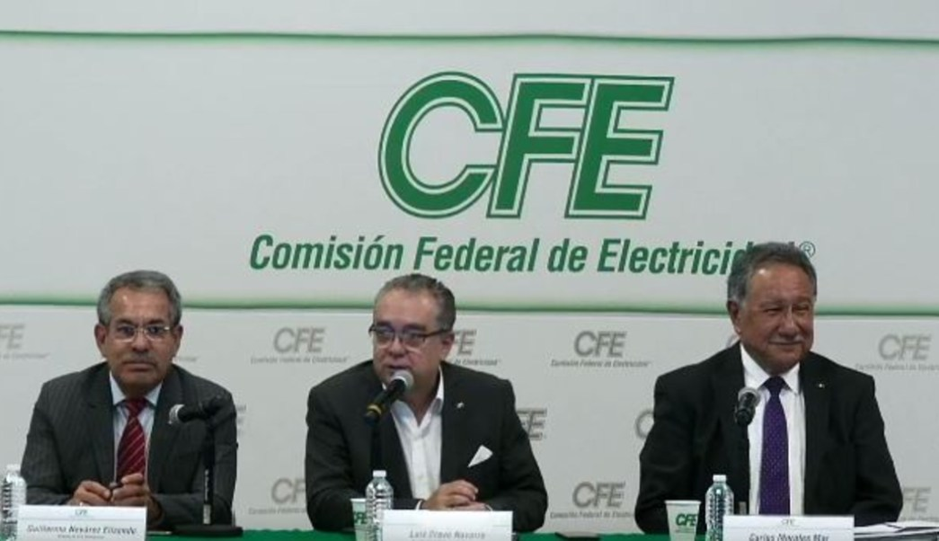 Foto: La CFE aclaró lo sucedido en Conferencia de prensa (CFE)