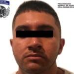 """Foto: Mauricio """"N"""" fue detenido en Zapopán, 5 de septiembre de 2019 (Policía de Investigación)"""