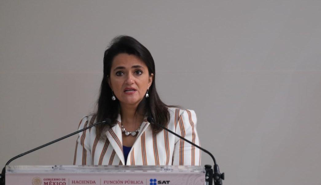 Foto Margarita Ríos Farjat, jefa de Servicio de Administración Tributaria (SAT), 6 de septiembre de 2019 (Cuartoscuro, archivo)