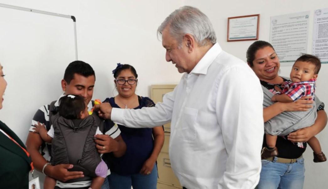 Foto AMLO hizo un recorrido por el hospital, 6 de septiembre de 2019 (Cuartoscuro)