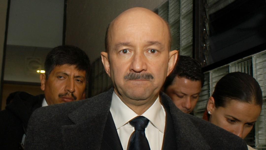 Foto: Carlos Salinas de Gortari, 7 de diciembre de 2004, Ciudad de México