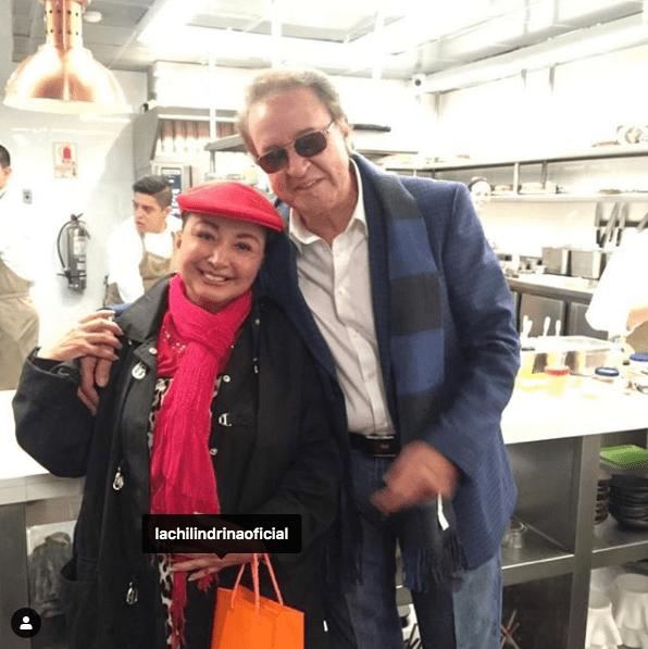 Imagen: 'Quico' con 'La Chilindrina', 26 de septiembre de 2019, (Instagram)