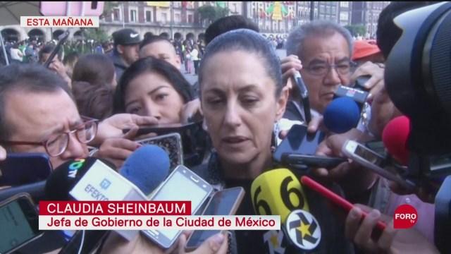 CDMX debe estar preparado para la actividad sísmica, dice Claudia Sheinbaum