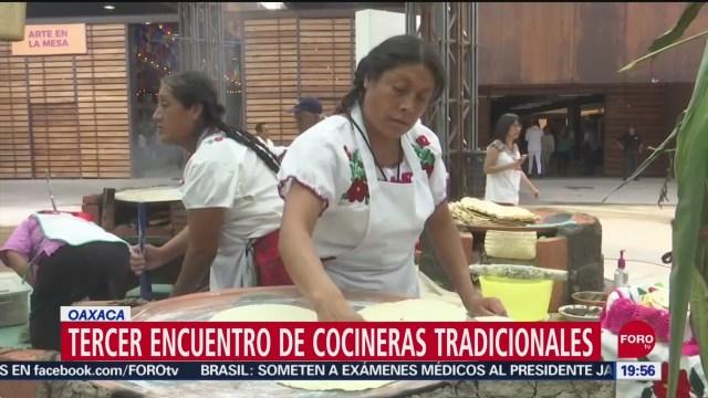 Foto: Celebran Tercer Encuentro Cocineras Tradicionales Oaxaca 20 Septiembre 2019