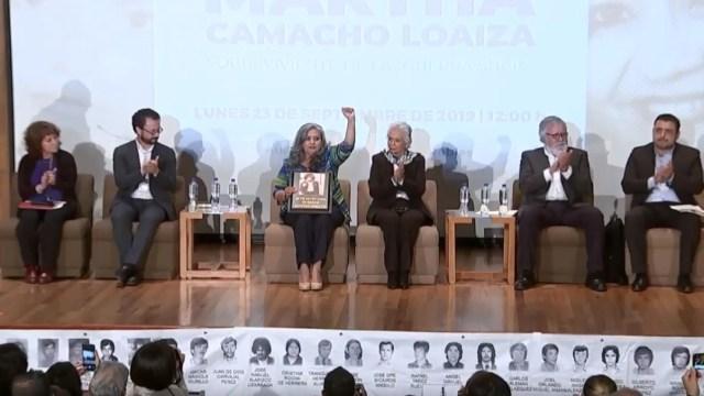 Foto: Ofrecen disculpa pública a Martha Camacho Loaiza, 23 de septiembre de 2019, Ciudad de México