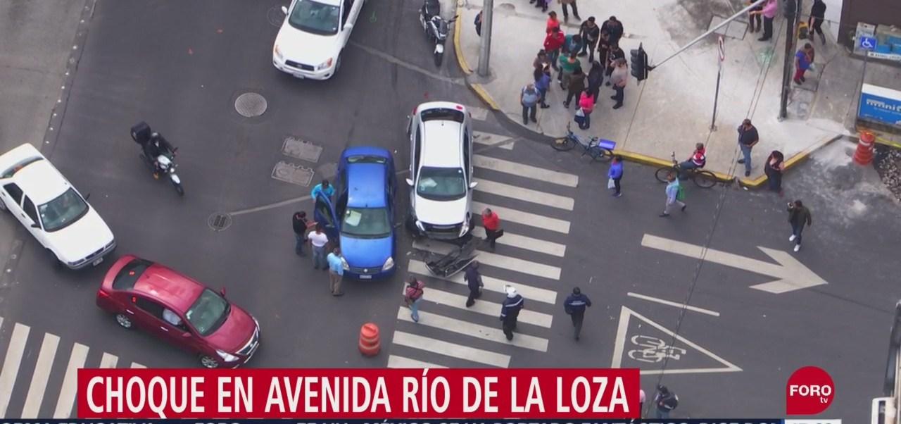 FOTO: Chocan Dos Carros Río De La Loza