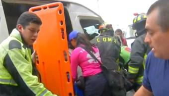 Foto: Choque de combi, 18 de septiembre de 2019, Ciudad de México
