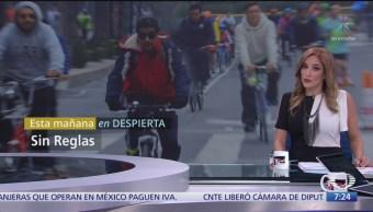 Ciclistas urbanos no respetan reglas en CDMX por falta de claridad