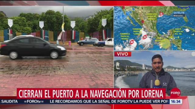 FOTO: Cierra Puerto Navegación Guerrero Por Lorena