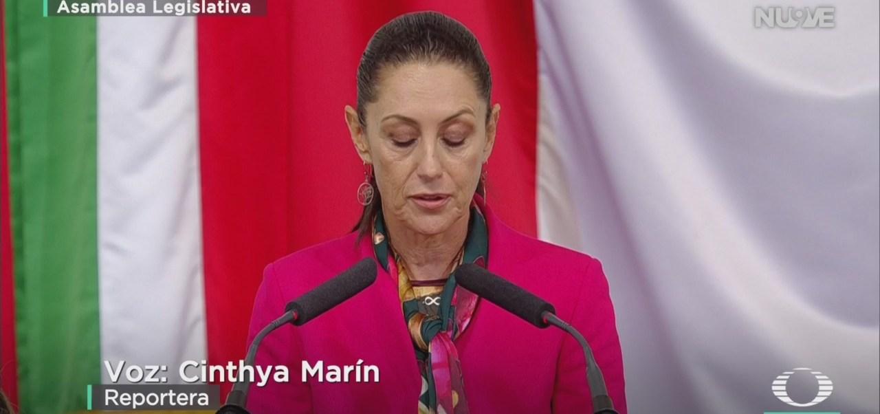 FOTO: Claudia Sheinbaum Rinde Su Primer Informe Gobierno
