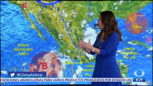 Clima Al Aire: Altas temperaturas en gran parte de México