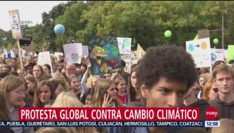 #ClimateStrike, protesta global contra el cambio climático